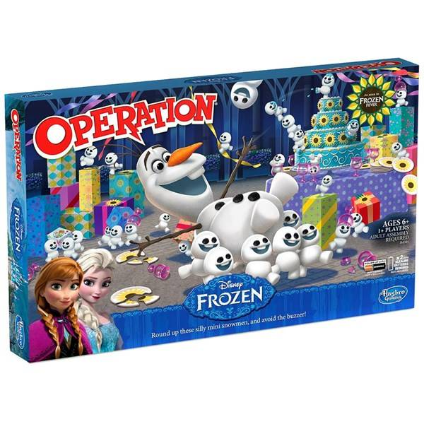 Hasbro Operation Frozen Fever, Hasbro (SE/FI/NO/DK) (Z000039585)