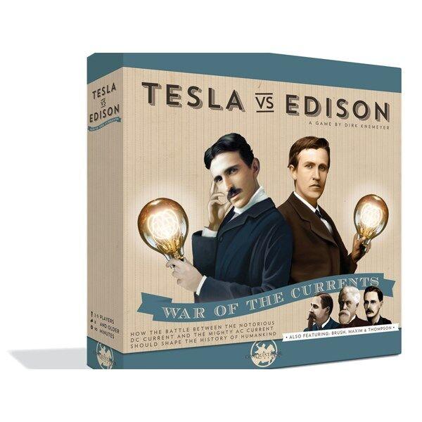 Tesla vs Edison, Brädspel (EN) (Z000140719)