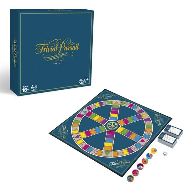 Hasbro Trivial Pursuit Classic Edition, Hasbro Games (SE) (Z000122890)