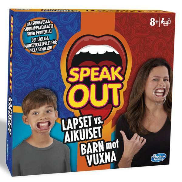 Speak Out Kids vs. Parents, Hasbro (SE/FI) (Z000119472)
