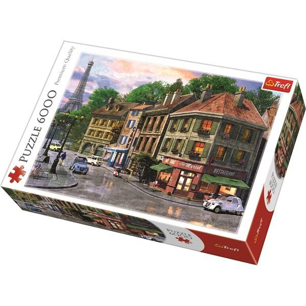 Puslespill, Streets of Paris, 6000 brikker (Z000125978)