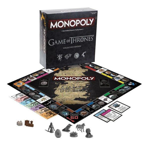 Monopoly Game of Thrones, Collectors Edition (EN) (Z000067204)