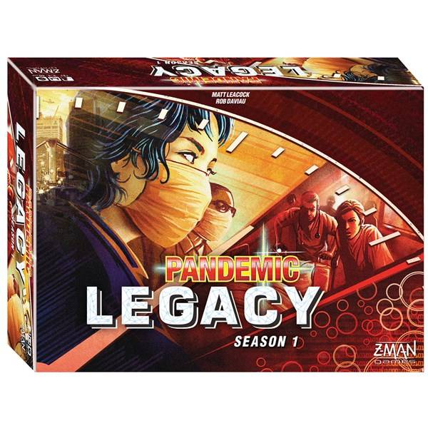 Pandemic Legacy, Red, Season 1 (EN) (Z000142206)