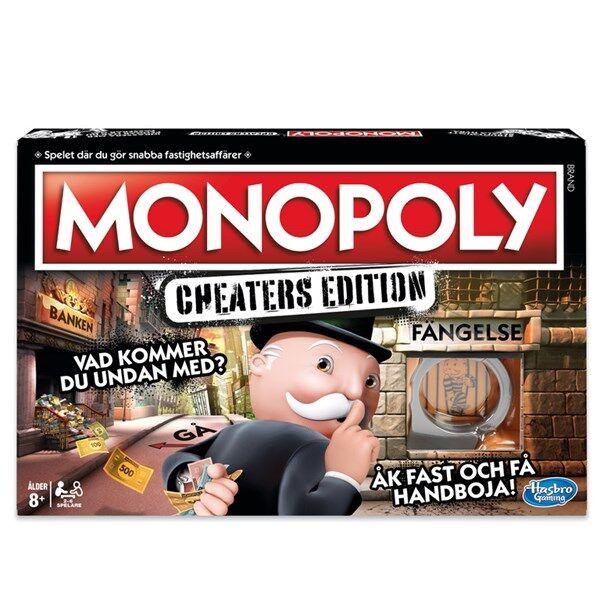 Hasbro Monopol Cheaters Edition, Hasbro Games (SE) (Z000130380)