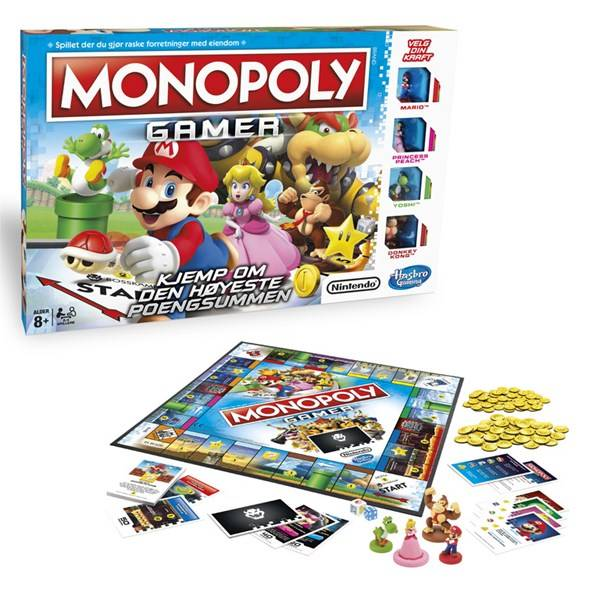 Hasbro HGA Monopoly Gamer, Hasbro Games (NO) (Z000122895)