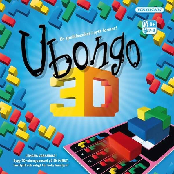 Ubongo 3D, Sällskapsspel (SE) (Z000064136)