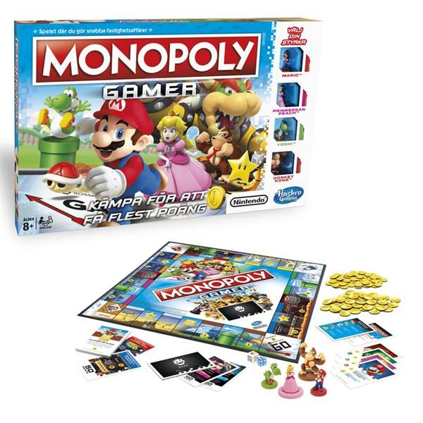 Hasbro HGA Monopoly Gamer, Hasbro Games (SE) (Z000125030)