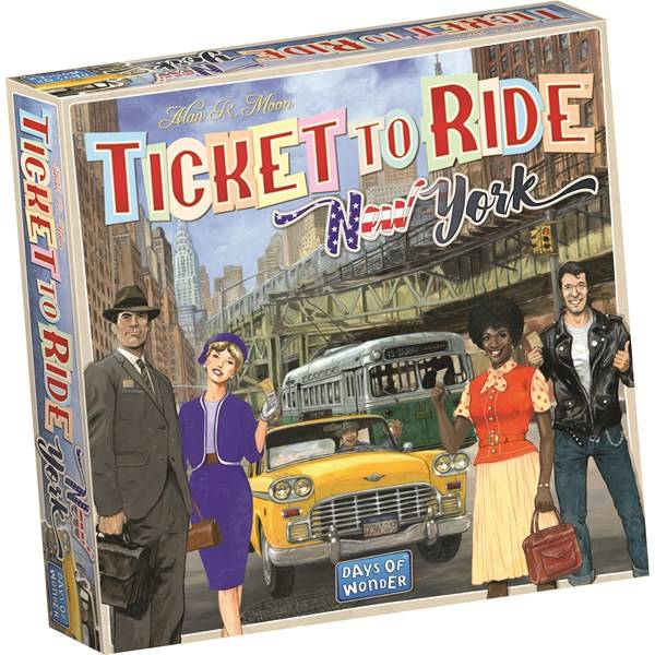 Ticket To Ride, New York Expansion, Familiespill (Z000142368)