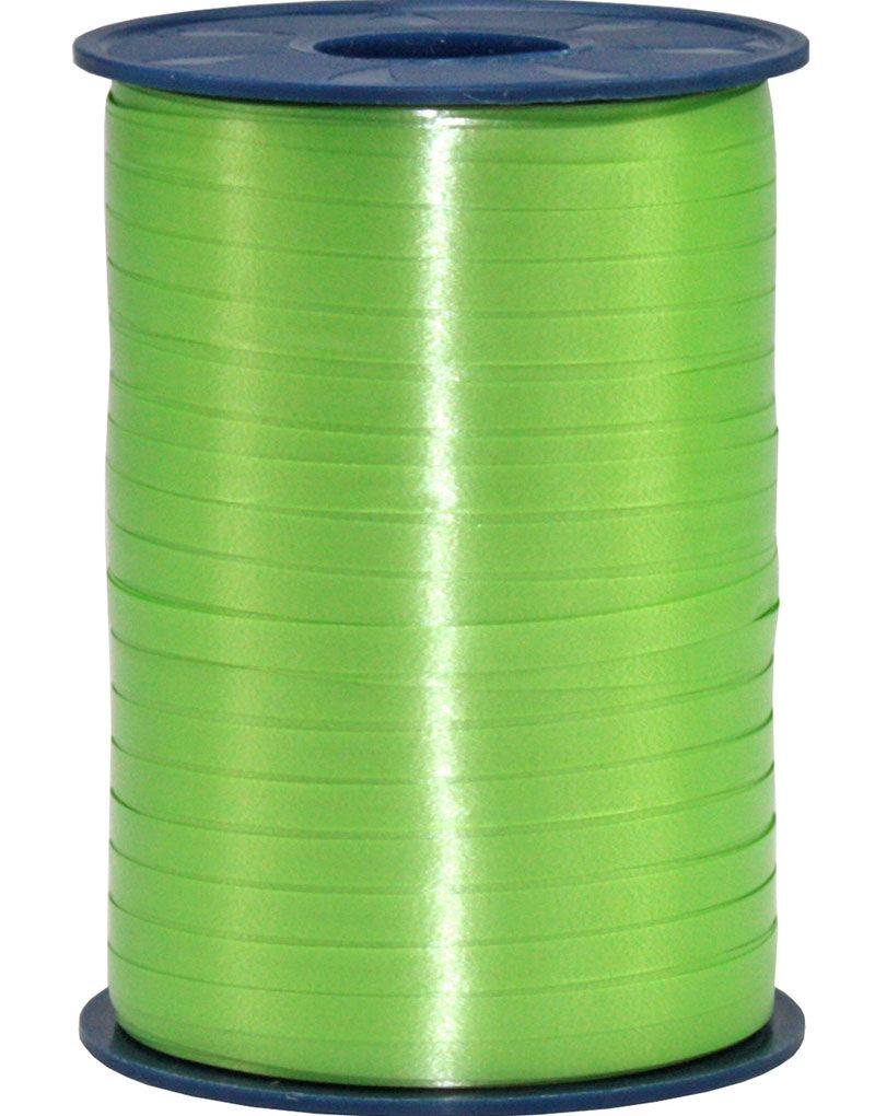 500 meter Eplegrønt Ballong/Gavebånd - 5 mm Bred