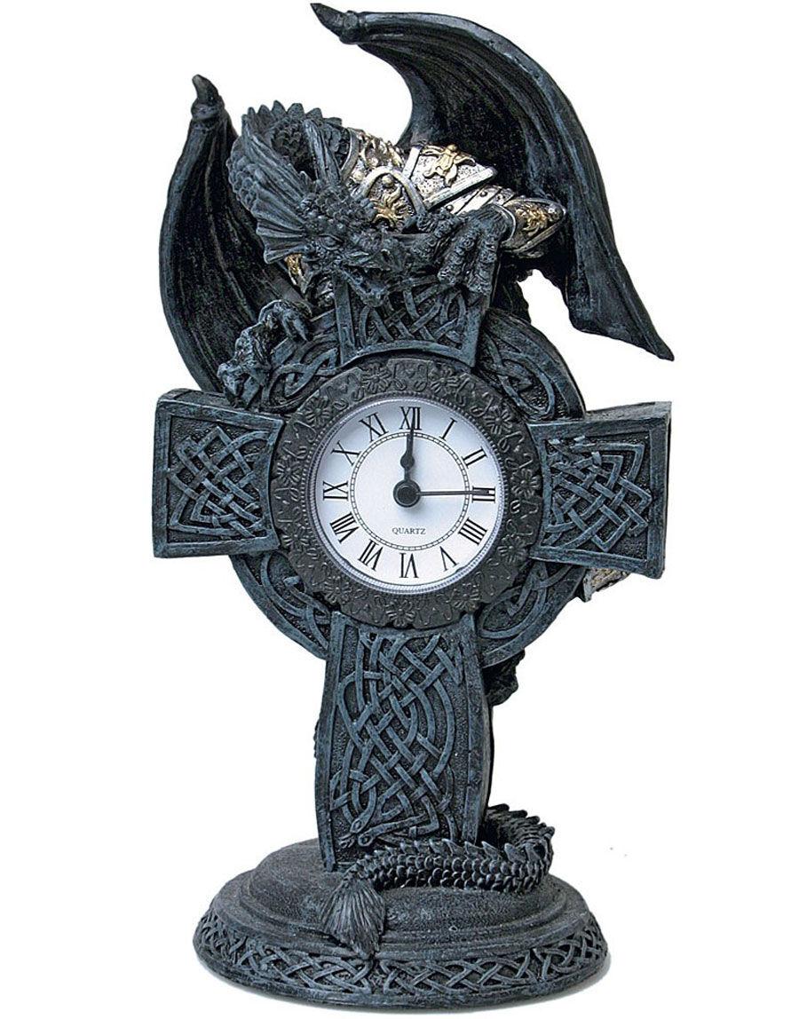 On Dragon Time - 24 cm Bordklokke