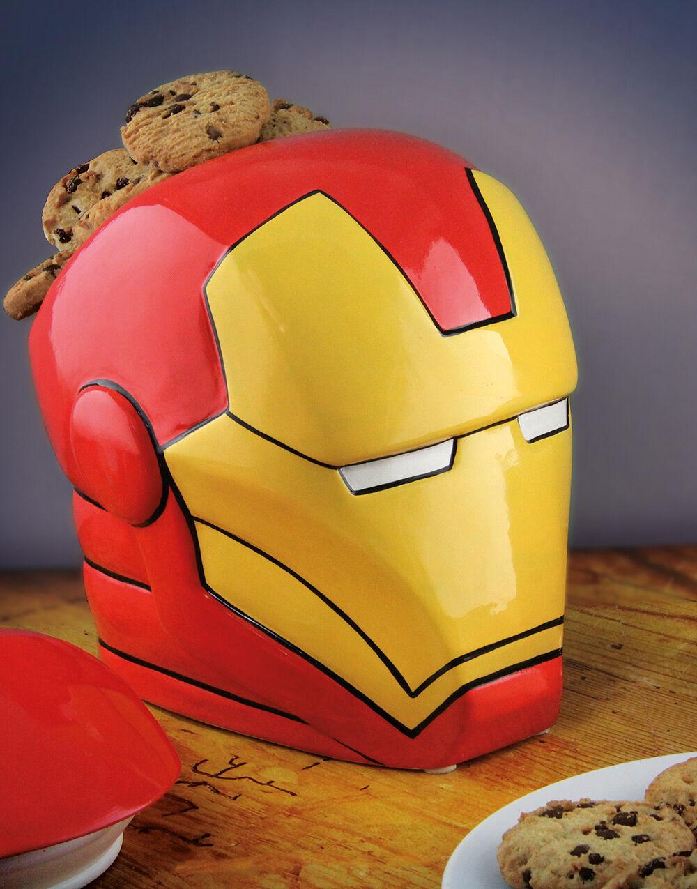 Iron Man Kakeboks i Keramikk 23x24 cm