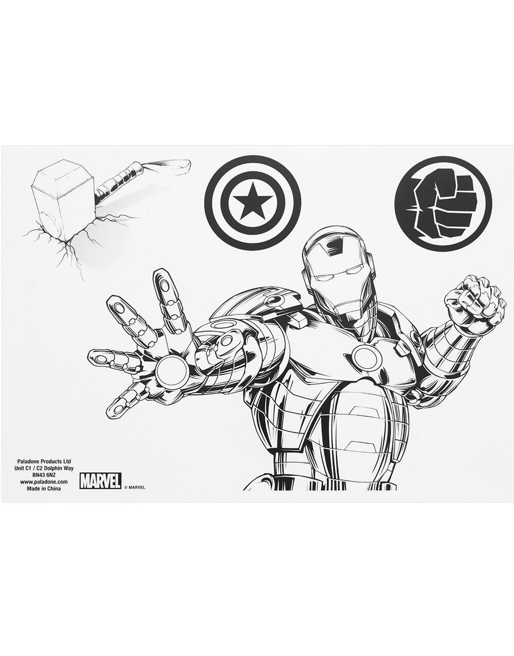 16 stk Marvel Avengers Klistremerker til Laptop og Tablet
