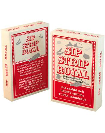 Sip Strip Royal - Strippe og Drikkespill