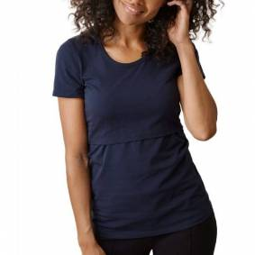 Boob Classic Short Sleeve Nursing T-Shirt - Navy-2