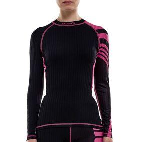 Salming Baselayer LS Tee Women - Black/Pink