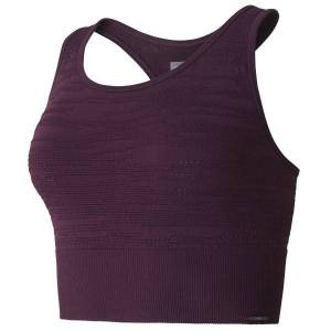 Casall Knitted Brushed Sport Top - Plum * Kampanje *