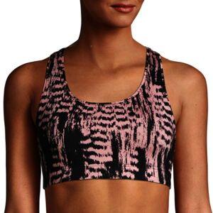 Casall Iconic Sports Bra - Pink/Black