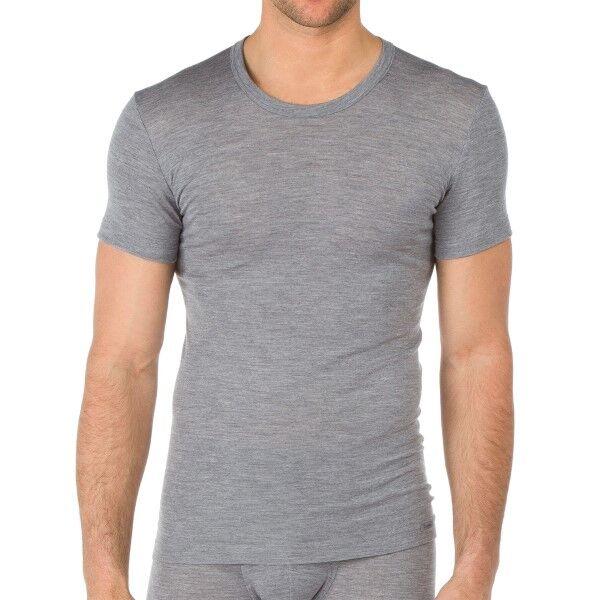 Calida Wool and Silk T-shirt - Grey