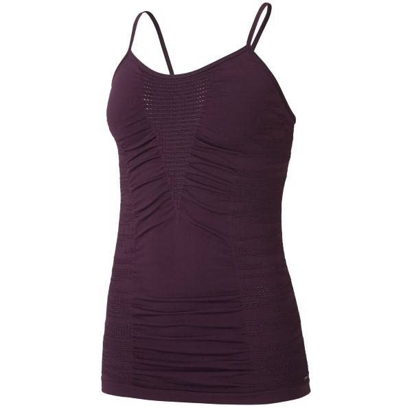 Casall Knitted Brushed Straptank - Plum * Kampanje *