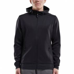 craft Noble Full Zip Hood Men - Black