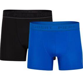 Pierre Robert 2-pakning Men Sports Boxers - Black/Blue