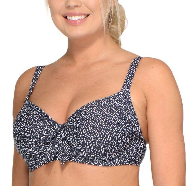 Saltabad Pebble Dolly Bikini Bra - Black pattern-2