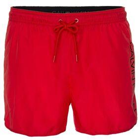 Calvin Klein Core Solids Short Runner Swim Shorts - Red * Kampanje *