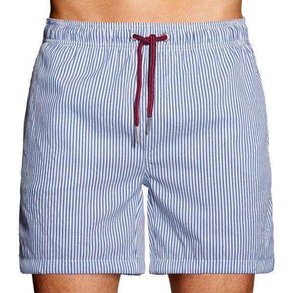 Gant Seersucker Swim Shorts - Blue * Kampanje *