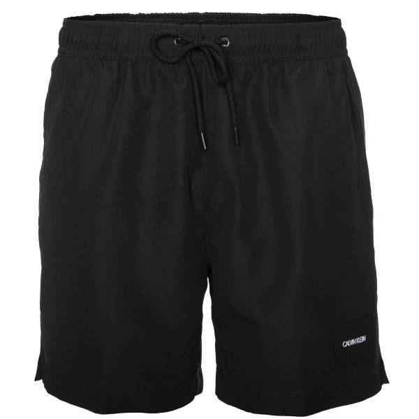 Calvin Klein Core Solids Drawstring Swim Shorts - Black * Kampanje *