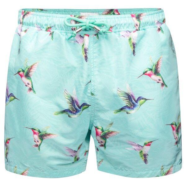 Panos Emporio Hummingbird Apollo Swim Shorts - Mint green