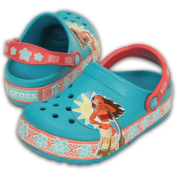 Crocs Lights Moana Clog - Pattern-2 * Kampanje *