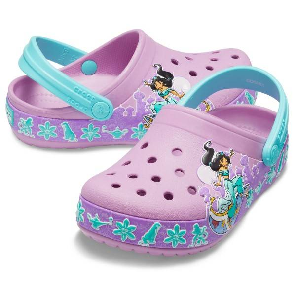 Crocs Fun Lab Princess Jasmine Band Clog - Violet