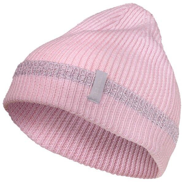 Pierre Robert Wool Reflective Hat for Kids - Pink