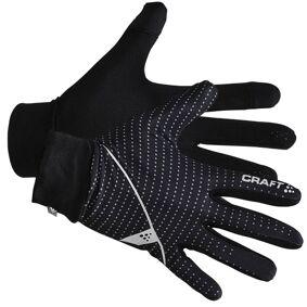 craft Thin Jersey Glove - Black