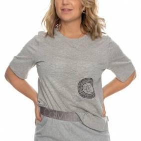 Calvin Klein Icon Lounge T-Shirt - Grey
