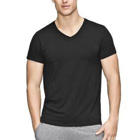 JBS of Denmark Bamboo Blend V-neck T-shirt - Black