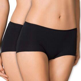 Calida 2-pakning Benefit Women Regular Panty - Black