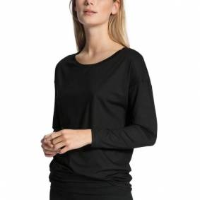 Calida Favourites Essentials Shirt Long Sleeve 137 - Black