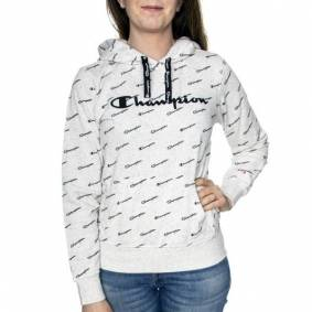 Champion Hooded Sweatshirt 276 - Greymarl * Kampanje *