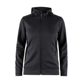 craft Noble Full Zip Hood Women - Black