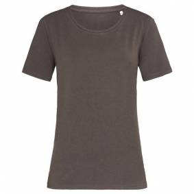 Stedman Claire Relaxed Women Crew Neck - Chocolate