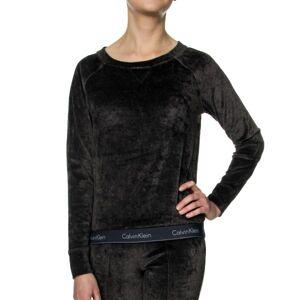 5e0e17dc Calvin Klein Modern Cotton Velour LS Sweatshirt.