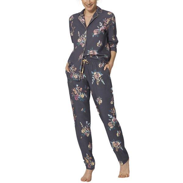 Triumph Lounge-Me Natural Boyfriend Pyjamas - Floral