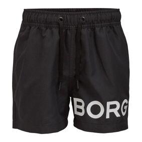 Björn Borg Karim Swim Shorts For Boys - Black