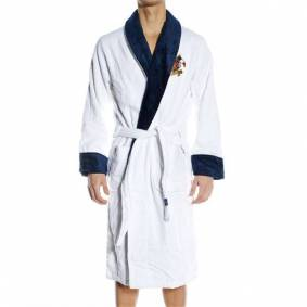 Newport Yacht Club Bathrobe - White