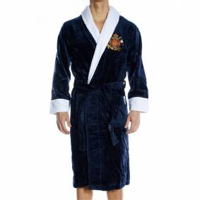 Newport Yacht Club Bathrobe - Blue