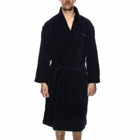 Tiger of Sweden Remo Bath Robe - Darkblue * Kampanje *