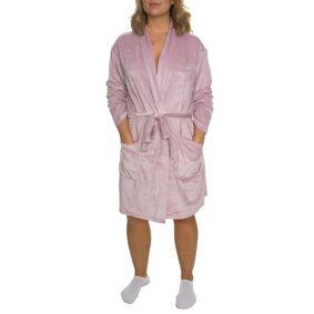 Calvin Klein Quilted Robe - Pink