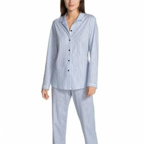 Calida Sweet Dreams Pyjama - Lt blue Stripe