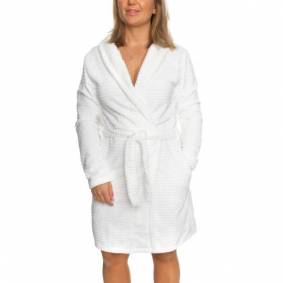 Decoy Women Stripe Robe - Ivory